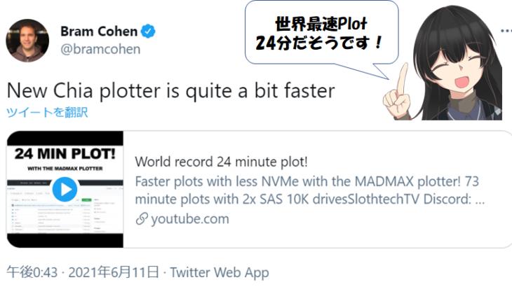 世界最速24分Plot!