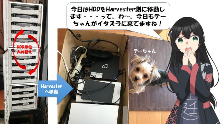 HDD大移動